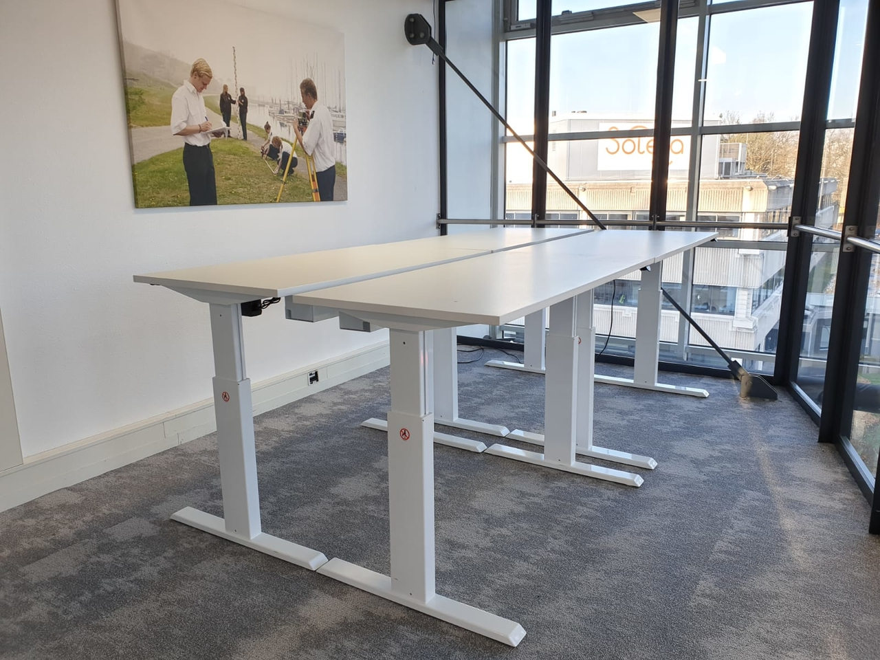 Onwijs Sit stand desk A140 | Electronically adjustable in height BR-13
