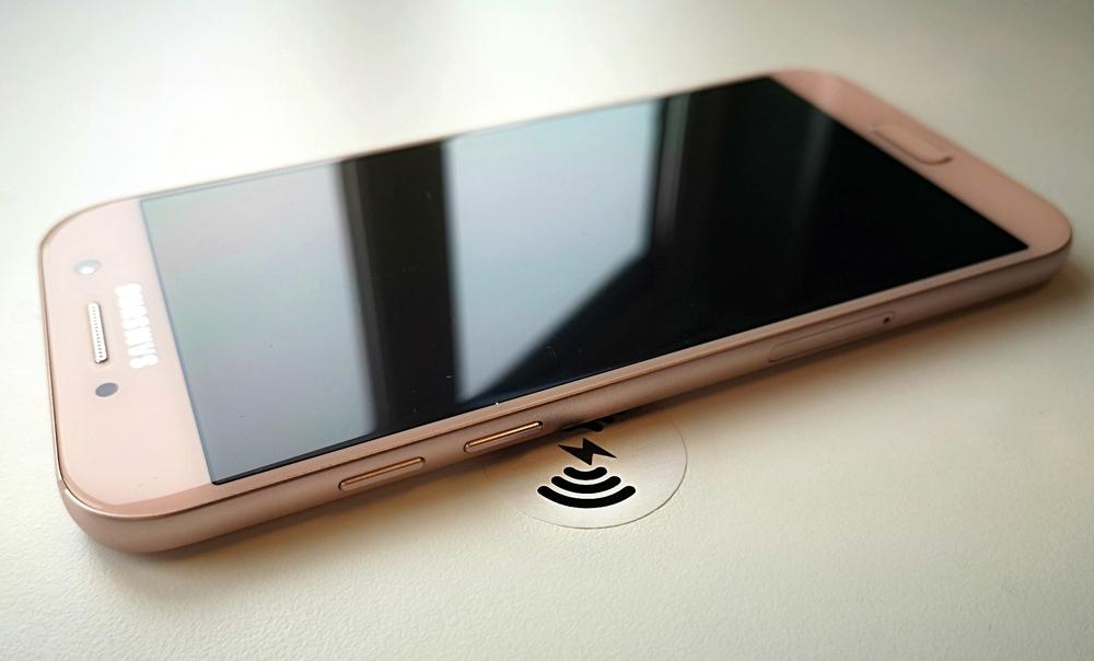 Inbouw oplader mobiele telefoon