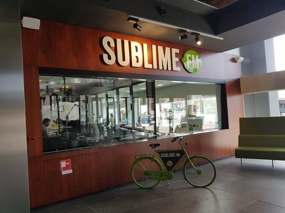 From the bike to the Deskbike at Sublime FM