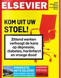 ELSEVIER: GET OUT OF YOUR CHAIR