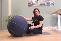 5 exercises with a sitting ball - OfficeFit