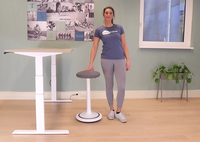 5 exercises with the Ongo Balance stool - Officefit