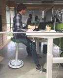 Ongo classic leunkruk Zit gezond met onze ergonomische bureaustoelen | Worktrainer.nl