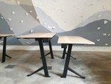 Y desk zwart frame | kies voor een gezonde werkplek bezoek Worktrainer.nl