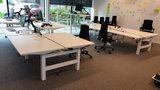 Monitorarm enkel  | accessoires voor je werkplek bezoek Worktrainer.nl