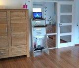 Flip Desk wit in woonkamer