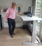 White Wash Werkblad CAD | kies voor een gezonde werkplek bezoek Worktrainer.nl