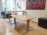 Aluforce 140 handmatig  | wissel staan en zitten achter je bureau af | Worktrainer.nl