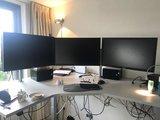 Galaxy monitorarm dubbel | accessoires voor je werkplek bezoek Worktrainer.nl