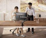 Monitorarm Easylift | accessoires voor je werkplek bezoek Worktrainer.nl