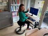 Swopper Classic Balanceren achter je werkplek   Worktrainer.nl