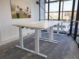 Aluforce 140 elektrisch | wissel staan en zitten achter je bureau af | Worktrainer.nl