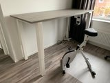 Deskbike bureaufiets Wit| Fiets je fit achter je bureau | Worktrainer.nl