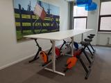 Vergader setting deskbike | Deskbike bureaufiets | Fiets je fit achter je bureau | Worktrainer.nl