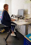 Fietsen en werken | Deskbike bureaufiets | Fiets je fit achter je bureau | Worktrainer.nl
