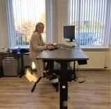 Deskbike met A140 l Deskbike bureaufiets | Fiets je fit achter je bureau | Worktrainer.nl