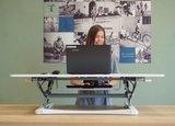 UPdesk XL Gasveer Bureauverhoger | Worktrainer.nl