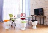 Tulip Stool Balanskruk   Gezond zitten op ons actieve kantoormeubilair   Worktrainer.nl