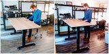 Updesk Air zit-stabureau    Worktrainer.nl