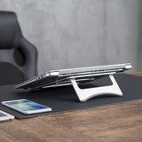 Laptop Verhoger Ultra Slim | Accessoires voor je werkplek | Worktrainer.nl