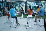 Vergadering fietsen | kies voor een gezonde werkplek bezoek Worktrainer.nl Flexispot