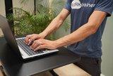 Ultra Slim Mini Desk   Staand werken achter een bureauverhoger   Worktrainer.nl