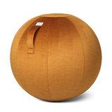 Pumpkin Zitbal Vluv Varm | Velvet zitbal voor thuis en op kantoor | Worktrainer.nl