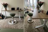 Y desk met Swopper Comfort   kies voor een gezonde werkplek bezoek Worktrainer.nl