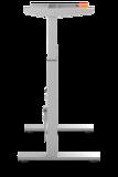 BouncyDesk Frame zilver| kies voor een gezonde werkplek bezoek Worktrainer.nl