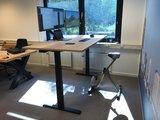 Very Stable Sit-stand desk SteelForce 670 | Electronically adjustable in heightElektrisch Zit-Sta Bureau Steelforce 670 - Workt