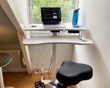 Small Electric Sit-Stand Desk - Updesk High