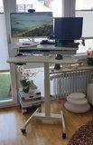 Lekker thuiswerken - Thuiswerkplek Klein Elektrisch Zit-Sta Bureau - Updesk High