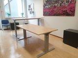 Manual Sit-Stand Desk - AluForce 140HC