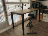 Electric 4 Legs Sit-Stand Table - HonMove - Most stable desk - Worktrainer.com