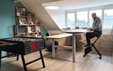 Double Electric Sit-Stand Desk - Honmove Duo