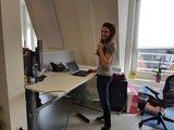 Zit sta bureau AluForce 270 Thuis of op de werkvloer | A270 (NEN) - Worktrainer.nl