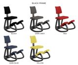 Varier Variable plus kniestoel beweegstoel actief meubilair balansstoel knie stoel worktrainer.com worktrainer.nl