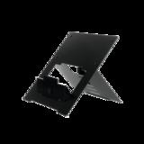 R-Go Riser Flexible Zwart Laptopstandaard | Worktrainer.nl