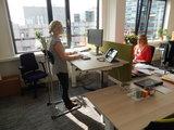 Stand4Work stastoel   ergonomisch kantoormeubilair   Worktrainer.nl