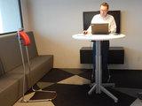 stastoel en stabureau   ergonomisch kantoormeubilair   Worktrainer.nl