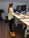 Togu Balanza Freeride | beweging op de werkplek achter je bureau | Worktrainer.nl