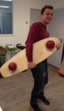 balansbord skatedeck | beweging op de werkplek achter je bureau | Worktrainer.nl