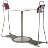 staand vergaderen staan achter je bureau | ergonomisch kantoormeubilair | Worktrainer.nl