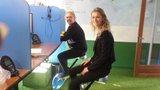 actief zitten l Deskbike bureaufiets | Fiets je fit achter je bureau | Worktrainer.nl