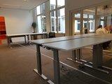 kantoor inrichten - verstelbare bureaus