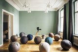 VLUV zitballen in sfeer| ergonomische zitballen | blijf in beweging op werk | Worktrainer.nl