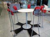 Complete vergaderset  staan achter je bureau | ergonomisch kantoormeubilair | Worktrainer.nl