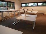 Devia gasveer setting werkvloer Worktrainer.nl voor alle accessoires bij je zit sta bureau