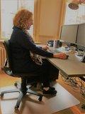 Actief zitten met de 3Dee alle accessoires bij je zit-sta bureau koop je online bij Worktrainer.nl