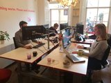 3dee op werkvloer alle accessoires bij je zit-sta bureau koop je online bij Worktrainer.nl